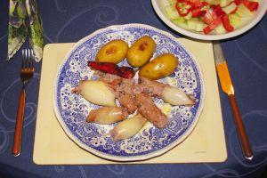 Calamari ripieni (gefüllte Tintenfische)