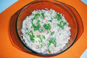 Meeresfrüchte-Couscous-Salat